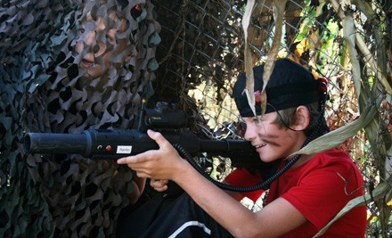 Laser-Tag Adventure for 4 (a $160 value) - Kersey Valley Laser Tag in High Point