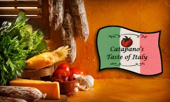Catapano's Taste of Italy - Indian Trail: $10 for $20 Worth of Take-Out Italian Fare at Catapano's Taste of Italy in Indian Trail