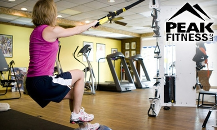 Peak Fitness - Southwest Lakeland: $15 for One Month of Unlimited Gym Access and a Personalized Fitness Plan with Five Fitness Classes of Your Choice at Peak Fitness ($150 Value)