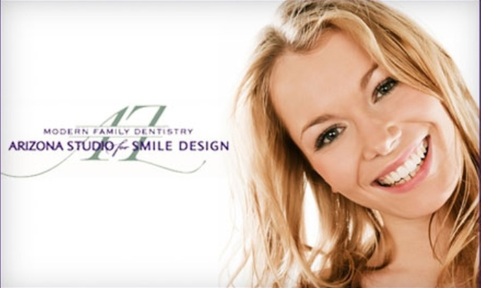 Modern Family Dentistry - Phoenix: $55 for Dental Exam, Teeth Cleaning, X-Rays, Laser Bacteria Reduction, Oral Cancer Screening, and Take-Home Teeth-Whitening Kit from Modern Family Dentistry ($555 Value)