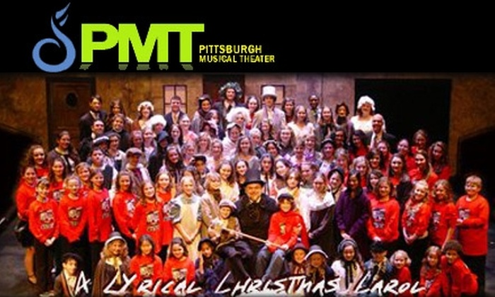 """Pittsburgh Musical Theater - Multiple Locations: $10 for One Ticket to Pittsburgh Musical Theater's """"A Lyrical Christmas Carol"""" ($20 Value). Choose from Three Performances."""