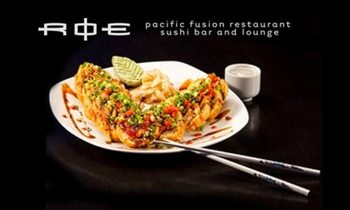 ROE - Bullard: $15 for $30 Worth of Sushi and Pacific Fusion Fare at ROE