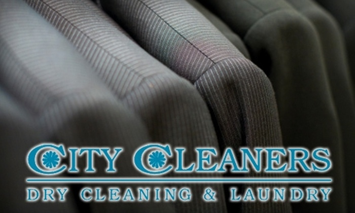 City Cleaners - Multiple Locations: $10 for $20 Worth of Dry Cleaning at City Cleaners