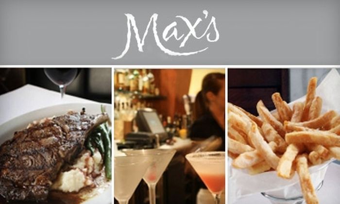 Max's Bistro - Bullard: $15 for $30 Worth of Upscale Dinner and Drinks or $10 for $20 Worth of Lunch Fare at Max's Bistro