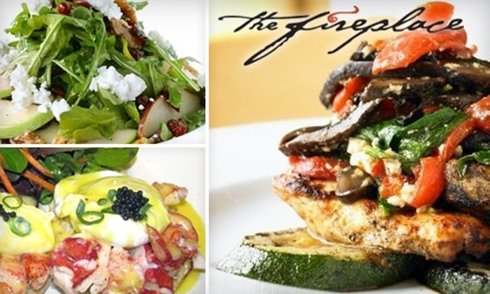 The Fireplace - Washington Square: $20 for $50 Toward Upscale New England Dinner at The Fireplace in Brookline (or $10 for $20 Worth of Lunch or Brunch)