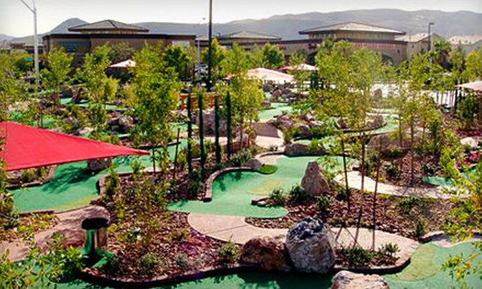 The Putt Park Miniature Golf Course - Las Vegas: Four or Eight Rounds of Mini Golf at The Putt Park Miniature Golf Course