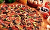 Round Table Pizza - Multiple Locations: $10 for $20 Worth of Pizza, Drinks, and More at Round Table Pizza. Choose from Nine Locations.