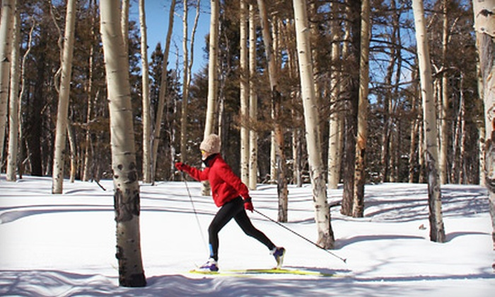 Enchanted Forest Cross Country Ski Area - Red River: Cross-Country Skiing at Enchanted Forest Cross Country Ski Area in Red River (Up to 53% Off). Three Options Available.