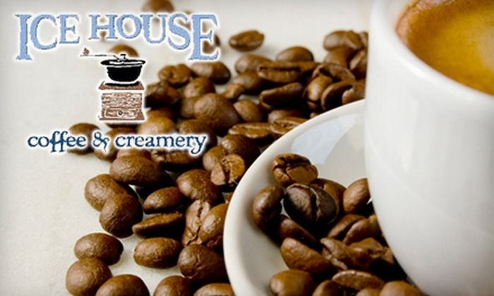 Ice House Coffee & Creamery - Ledgeview: $4 for $8 Worth of Coffee and Café Fare at Ice House Coffee & Creamery