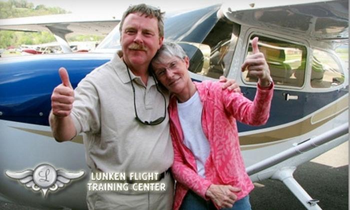 Lunken Flight Training Center - East End: $110 for the Explorer Discovery Flight at Lunken Flight Training Center ($219 Value)