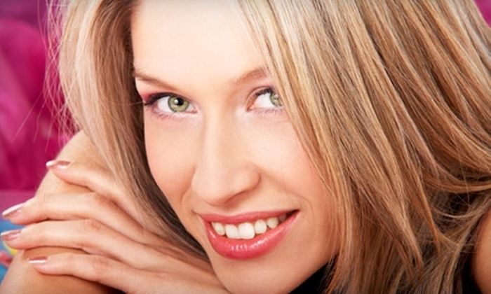 Uptown Hair Studio - The Lakes/Country Club: $50 for a Haircut and Brazilian Blowout at Uptown Hair Studio ($200 Value)