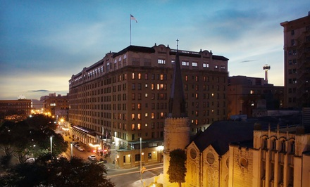 1-Night Stay for Two - The St. Anthony Riverwalk Wyndham Hotel in San Antonio