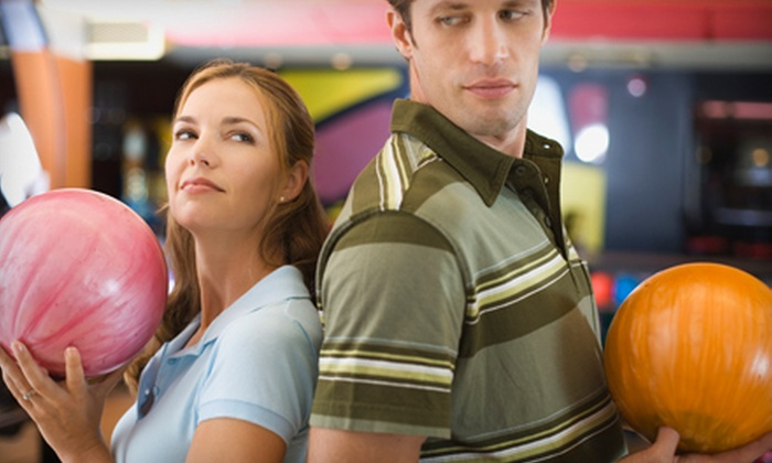 Paradise Lanes Family Entertainment Center - Greenville: Two-Game Adult or Family Bowling Packages at Paradise Lanes Family Entertainment Center in Spartanburg