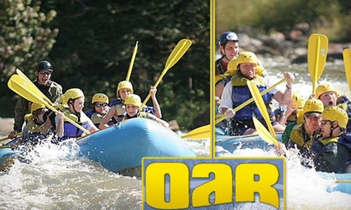 Outdoor Adventure Rafting - 2: $38 for a Whitewater Rafting and Rock Climb with Rappelling at Outdoor Adventure Rafting