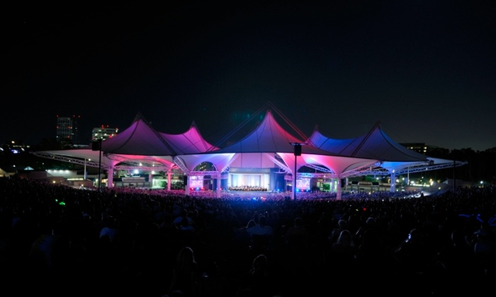 Cynthia Woods Mitchell Pavilion - Town Center: $7 Tickets to the Houston Symphony at The Pavilion. Buy Here for Rockapella Goes Retro, 9/3. See Below for Other Concerts.