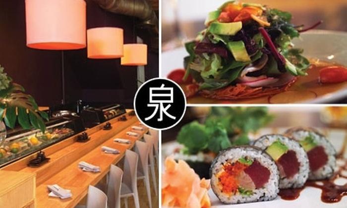 Izumi Sushi - West Loop: $20 for $40 Worth of Delectable Sushi, Sake, and More at Izumi Sushi
