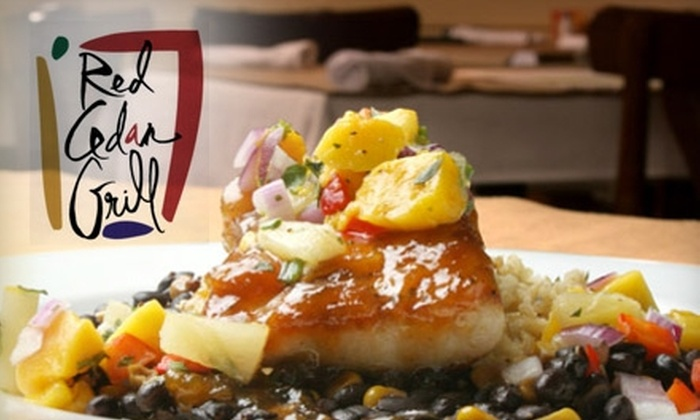 Red Cedar Grill - Williamston: $20 for $40 Worth of Upscale American Fusion at Red Cedar Grill