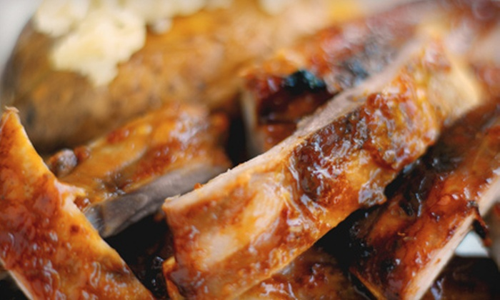 Woodshed BBQ - Amarillo: $5 for $10 Worth of Barbecue Fare at Woodshed BBQ