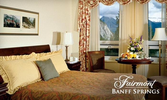 Fairmont Banff Springs Hotel - Banff: $199 for One Night Stay and Breakfast for Two at The Fairmont Banff Springs ($409 Value)