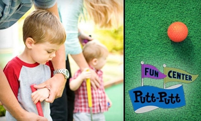 Putt-Putt Golf & Games - Knoxville: $15 for a Mini-Golf Package at Putt-Putt Golf & Games (Up to $30 Value)