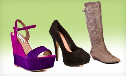 $50 Groupon for Designer Heels, Boots, and Shoes - Heels.com in