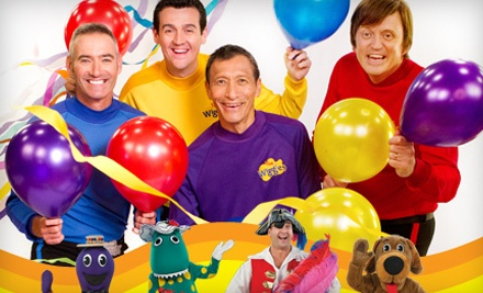 Live Nation: The Wiggles Big Birthday! at the Paramount Theatre on Fri., Aug. 12 at 2:30PM: Orchestra Seating - The Wiggles Big Birthday! at the Paramount Theatre in Oakland