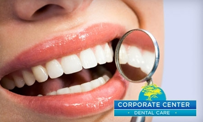 Corporate Center Dental Care - Lexington-Fayette: $179 for Zoom! Whitening, Take-Home Whitening Trays, and X-rays at Corporate Center Dental Care
