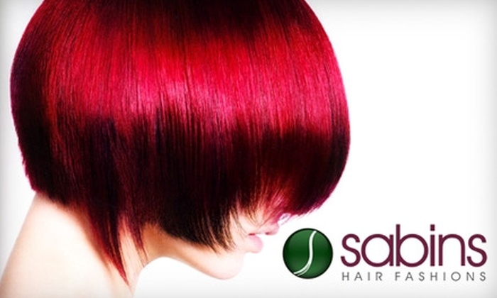 Sabins Hair Fashions - Devonshire: $80 for a Gloss Moderne Keratin Treatment at Sabins Hair Fashions ($160 Value)