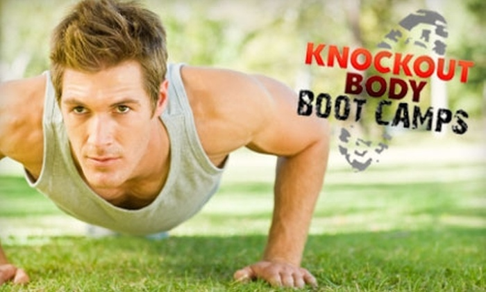 Knockout Body Boot Camps - Franklin - Randolph: $25 for a One-Month Membership to Knockout Body Boot Camps ($99 Value)
