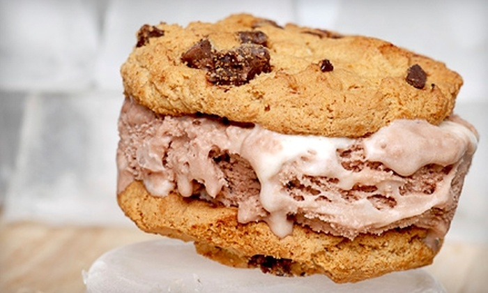 The Scoop on Cookies - Downtown Huntington Beach: $5 for $10 Worth of Customizable Cookie and Ice-Cream Creations at The Scoop on Cookies in Huntington Beach