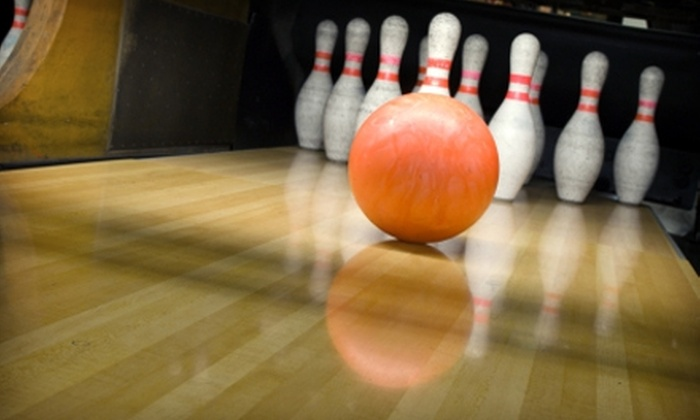 Freedom Lanes - Marlow: $25 for Two Games of Bowling, Shoe Rentals, Pizza, and Soda for Four at Freedom Lanes in Duncan ($48 Value)