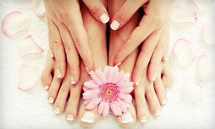 Revelations Salon - Fort Wayne: One or Three OPI Axxium Mani-Pedis at Revelations Salon (Up to 51% Off)