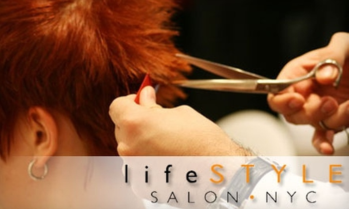 Lifestyle Salon NYC - Greenwich Village: $25 for a Custom Cut, Wash, and Style at Lifestyle Salon NYC