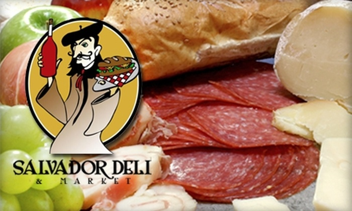 Salvador Deli - North Charlotte: $5 for $10 Worth of Sandwiches and Drinks at Salvador Deli