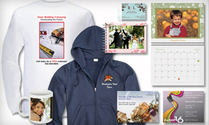 Vistaprint: $15 for $60 Worth of Custom-Printing Services Online from Vistaprint
