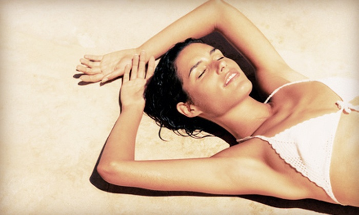 The Glo Studio - Marina Del Ray: Two or Five Organic Spray Tans at The Glo Studio in Marina del Rey (Up to 64% Off)