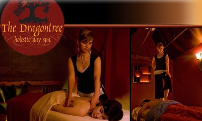 The Dragontree Holistic Day Spa - Northwest District: $50 for Massage, Facial, and Foot Bath at The Dragontree