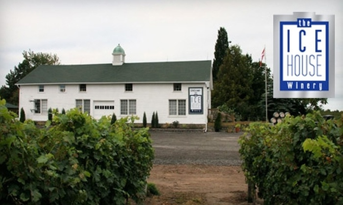The Ice House Winery - Niagara-on-the-Lake: $5 for an Icewine Tasting and Tour for Two at The Ice House Winery