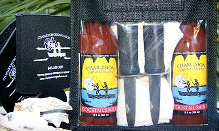 Charleston Original Sauces - Harleston Village: $29 for an Oyster Gift Set of Gourmet Sauces from Charleston Original Sauces ($59 Value)