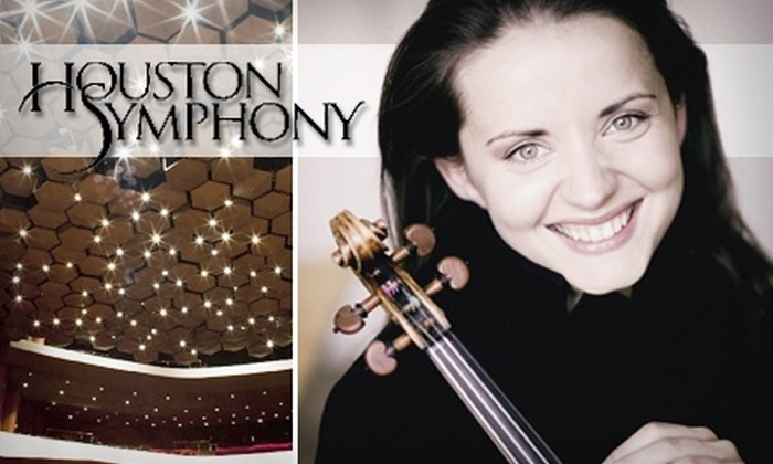 """Linda Eder Sings Judy Garland - Downtown: $30 Ticket to Franck's """"Symphony in D Minor"""" at the Houston Symphony (Up to $98.50 Value). Buy Here for April 17 at 8 p.m. See Below for Additional Dates."""