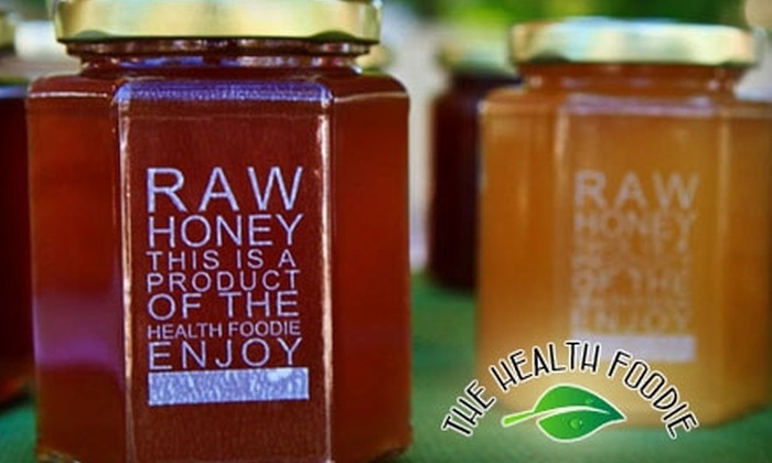 The Health Foodie - Multiple Locations: $12 for $24 Worth of Arizona Honey at The Health Foodie