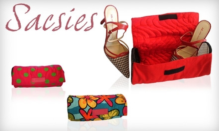 Sacsies - San Francisco: $17 for a Designer Shoe Bag with Free Shipping from Sacsies