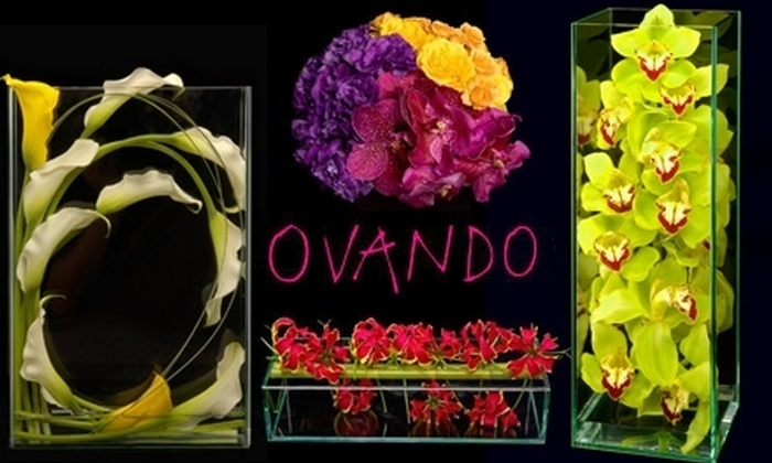 Ovando - New York City: $35 for $75 Worth of Floral Arrangements from Ovando