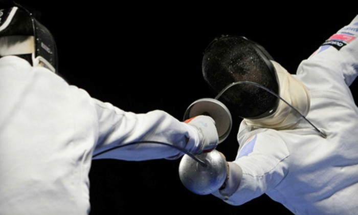 Los Angeles International Fencing Center - West Los Angeles: $39 for a Month Membership and Four Group Classes at Los Angeles International Fencing Center ($175 Value)
