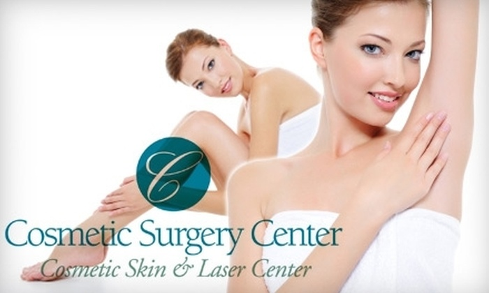 Cosmetic Surgery Center - Virginia Beach: $99 for Four Laser Hair-Removal Sessions at the Cosmetic Surgery Center (Up to $600 Value)