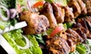 Up to 52% Off Mediterranean Fare at Caspian Cafe