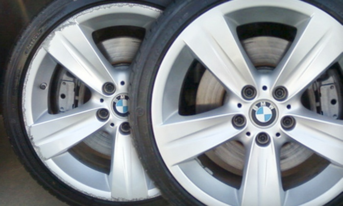 Dr. Wheel - Multiple Locations: $99 for Cosmetic Wheel Repair of Two Alloy Wheels from Dr. Wheel ($300 Value)