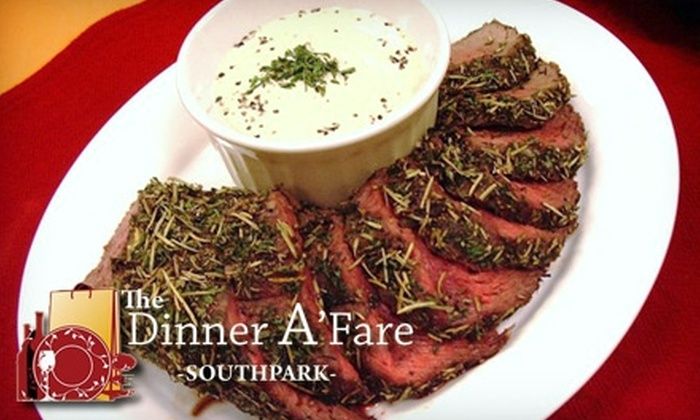 The Dinner A'Fare - Barclay Downs: $75 for Six Pre-Assembled Dishes (Serving Two to Three People Each) from The Dinner A'Fare ($149 Value)