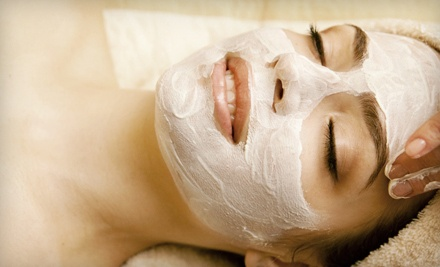1 Deluxe Spa, European, Acne, or Back Facial (up to a $70 value) - Attractions Salon in Gainesville