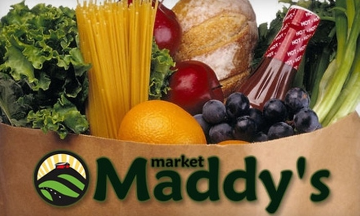 Maddy's Market - Agoura Hills-Malibu: $10 for $20 Worth of Groceries at Maddy's Market